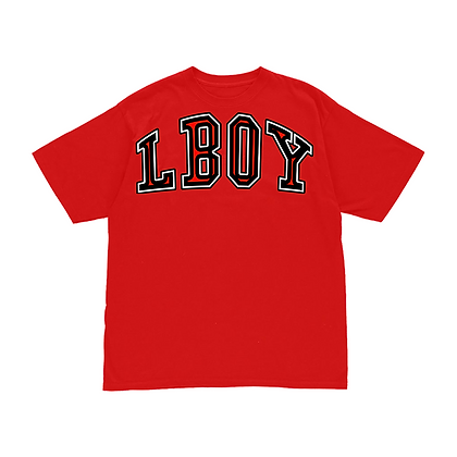 LBOY COLLEGE TEE - RED