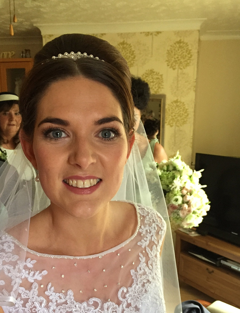 bridal hair and make-up artist, cheshire manchester & north west