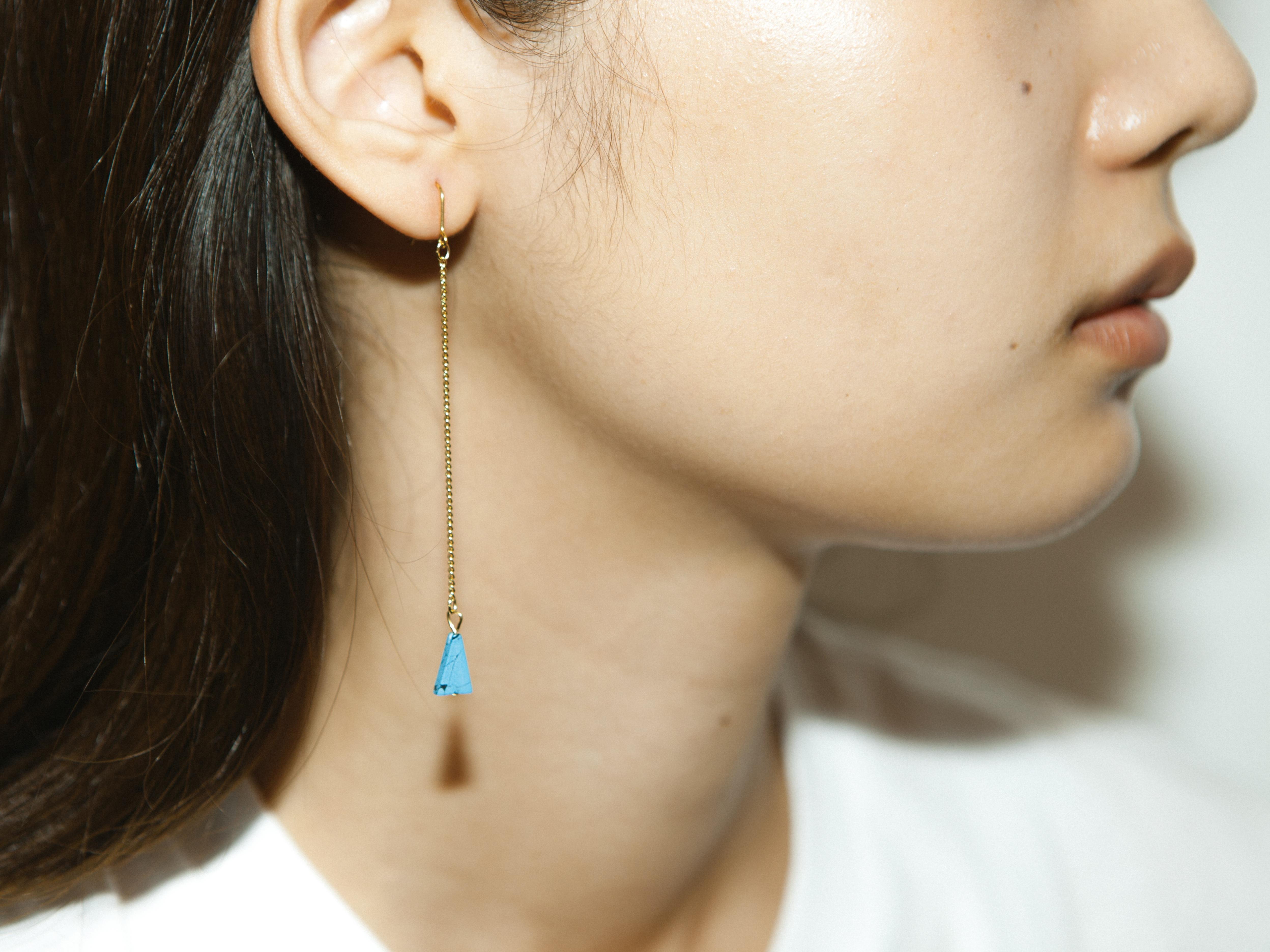 さんかく pierce/earring
