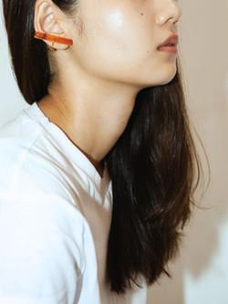 Straight earring