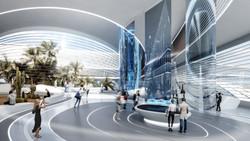 Hyperloop Desert Campus Lobby
