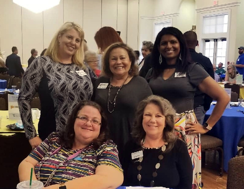 In February 2019, members of the Riverview Woman's Club were on hand to show their pride during a Riverview Chamber of Commerce event in which the club was recognized.