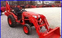 Kubota B3200 Tractor Backhoe