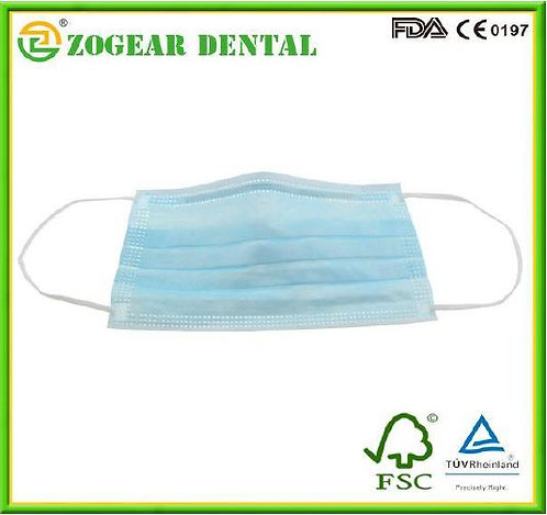 Zogear 3-ply Non-Woven Face Mask Earloop (PB001-3B)