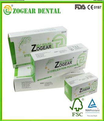 Zogear Self-Sealing Sterilization Pouch (SP001-FA1)