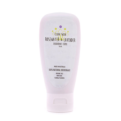 Rosewater & Lavender Deodorant Crème 100gr