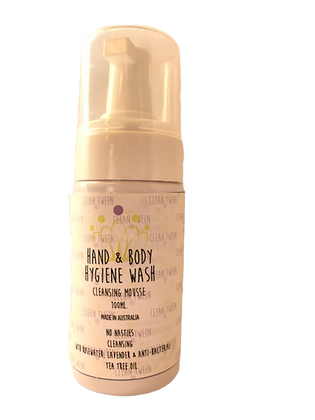 Hand and Body Cleansing Foam