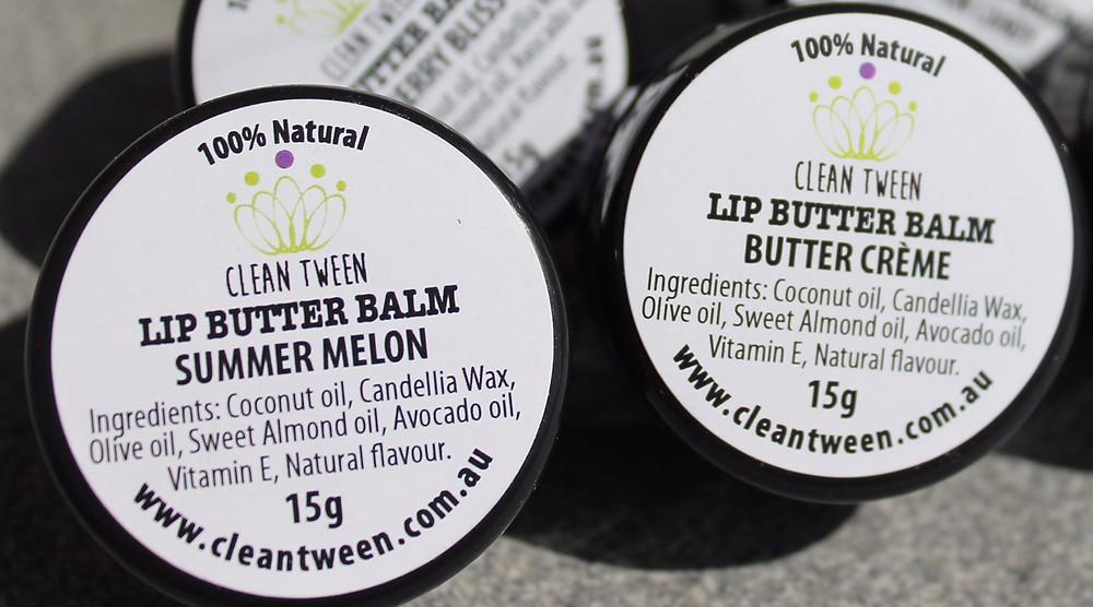 100% All Natural Lip Butter Balm
