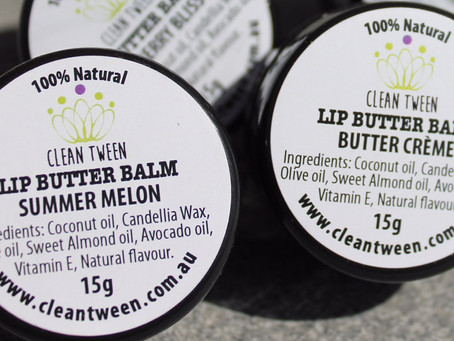 About our Clean Tween Lip Balm Butter
