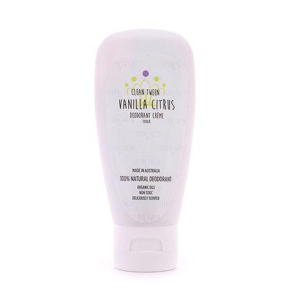 Vanilla Citrus Deodorant Creme 100gr