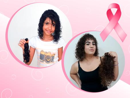 Conheça nossa campanha de doação de cabelo