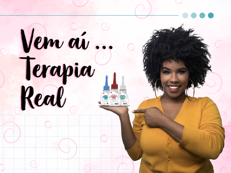 Conheça a nova Terapia Real, exclusiva da Cachos Brasil!