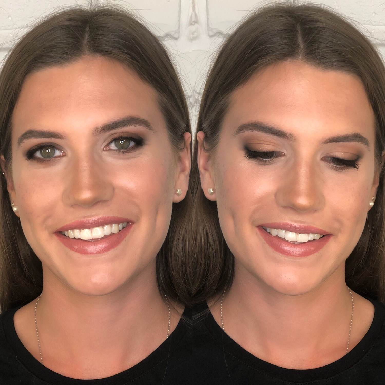 Makijaż po lekcji makijażu
