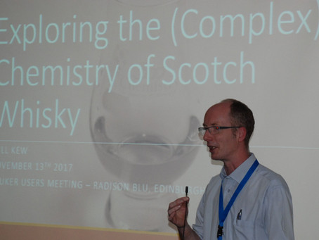 SNUG Presence at the 2017 UK Bruker Users' Meeting