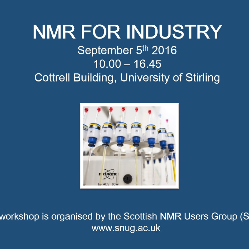 NMR FOR INDUSTRY