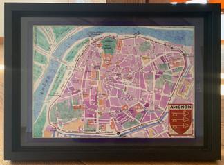 Framed Avignon