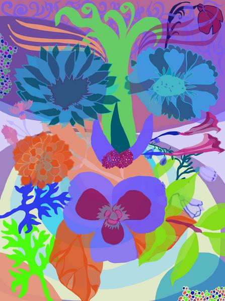 Flower Faces II