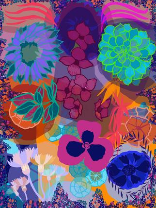 Flower Faces IV