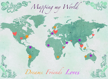 I can draw your personalised map