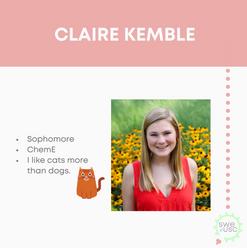 Claire Kemble