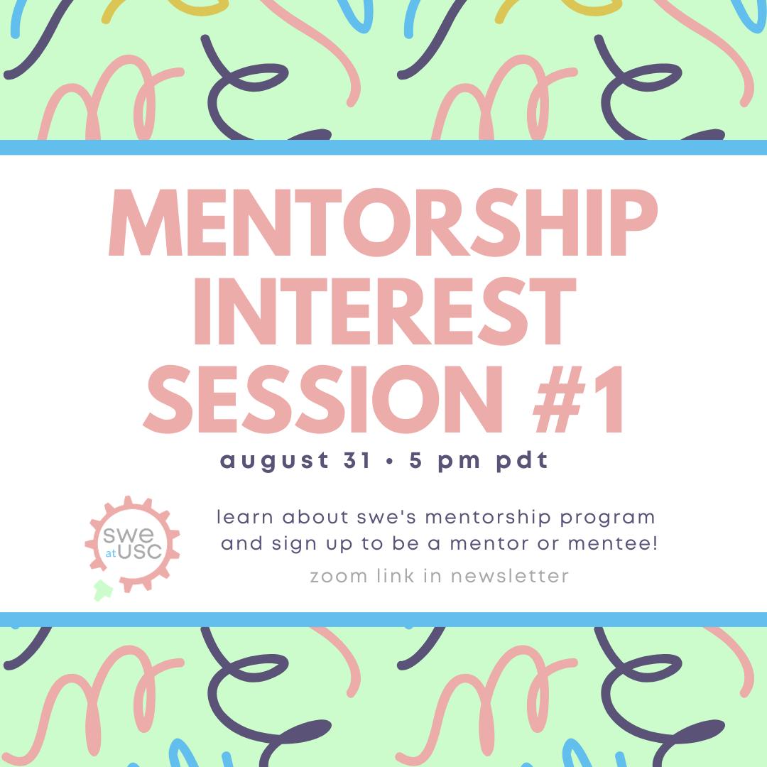 Mentorship Interest Session #1