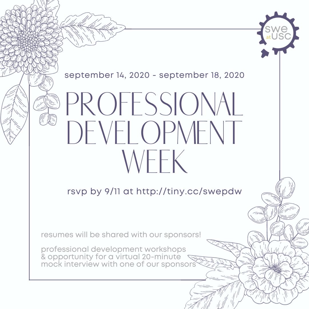IG Post Professional Development Week