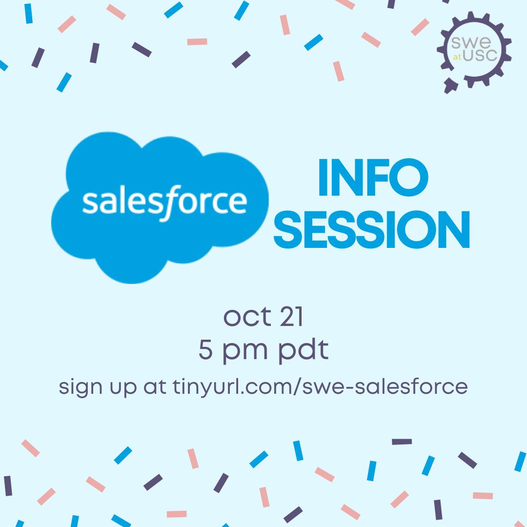 salesforce info session