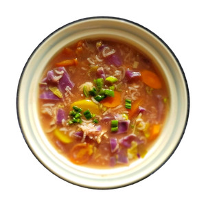 Organic Chicken & Cabbage Soup