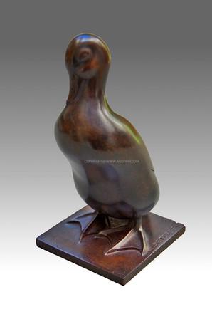 Armand Petersen - Canard bec dans le cou - petit modèle