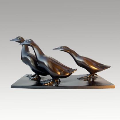 Armand Petersen - Groupe de canards