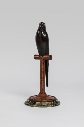 Armand Petersen - Perruche moineau sur perchoir