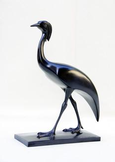 Armand Petersen - Demoiselle de Numidie sur terrasse rectangulaire