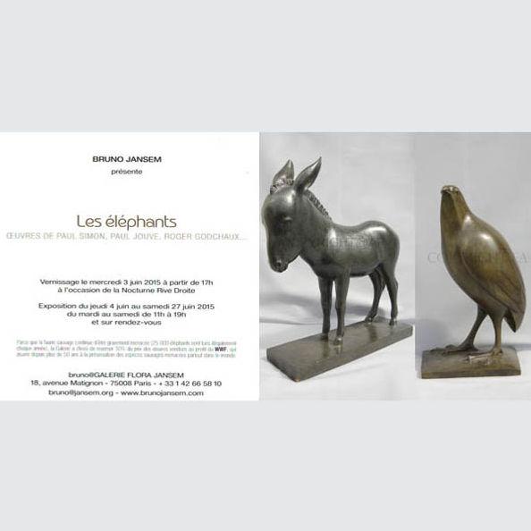 Armand Petersen - Exposition à la Galerie Jansem