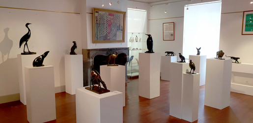 Exposition Armand Petersen au Musée Pompon à Saulieu