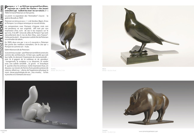 Armand Petersen - La faune sauvage européenne - Edition Abbate-Piolé