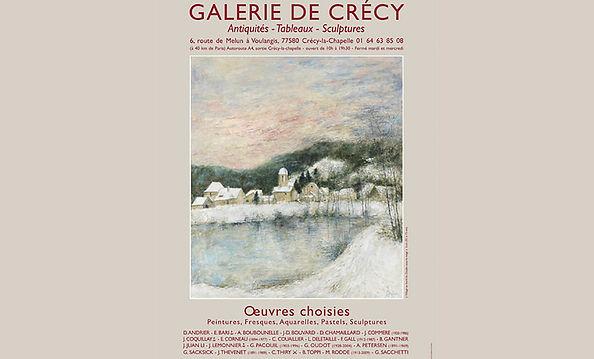 Armand Petersen - Exposition à la galerie de Crécy