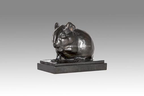 Armand Petersen - Cobaye - Cochon d'Inde