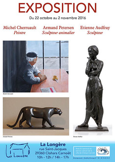 Exposition Armand Petersen à Clohars-Carnoët (29)