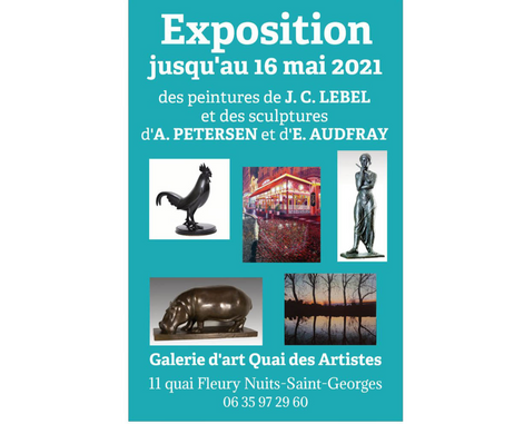 Exposition à la Galerie des Artistes Nuits-St-Georges