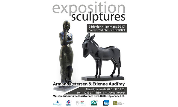 Exposition Armand Petersen - Etienne Audfray