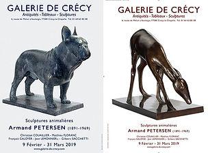 Armand Petersen - Exposition à la glerie de Crécy