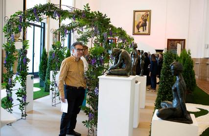 Exposition Petersen - Audfray à la mairie de Puteaux