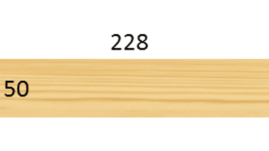 TIMBER 50 X 228 X 6.6M