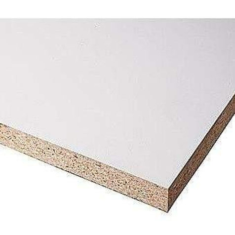 BOARD CHIPBOARD PLAIN WHITE 2750X1850 16MM