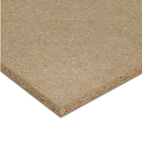 BOARD CHIPBOARD PLAIN BROWN 2750X1850 16MM