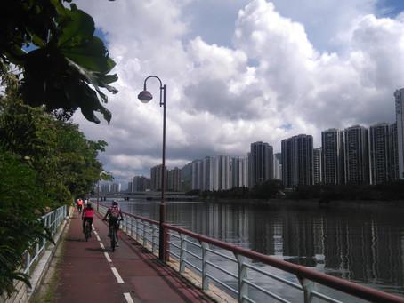 Cycling in Hong Kong - Shatin to Tai Mei Tuk