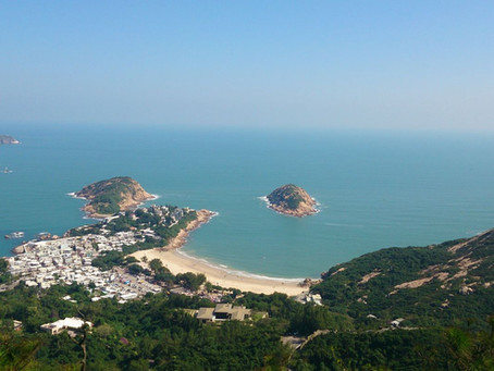 Best Hike on Hong Kong Island - Dragon 's Back