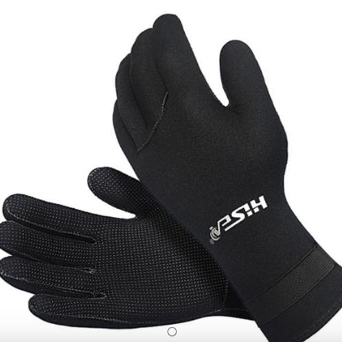 Hisea diving gloves 潛水手套 防滑 防寒 保暖 護手浮潛 防刮傷 潛水 3mm