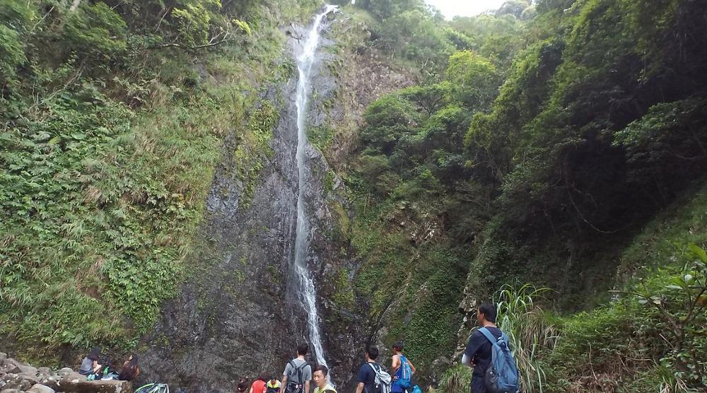 highest waterfall in Hong Kong