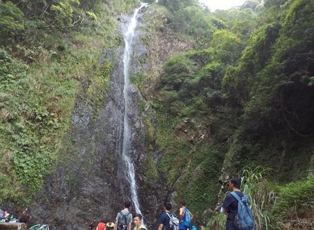 The highest waterfall in Hong Kong - Ng Tung Chai Waterfall
